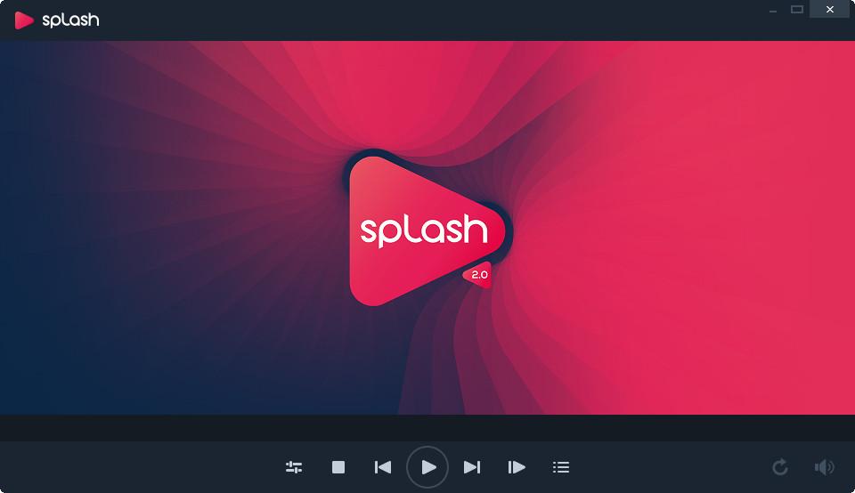 高清视频播放器(Splash)2.5.0精简绿色便携版