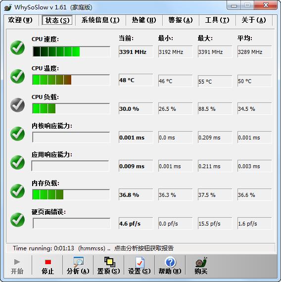 系统性能分析器(WhySoSlow)1.61汉化家庭版